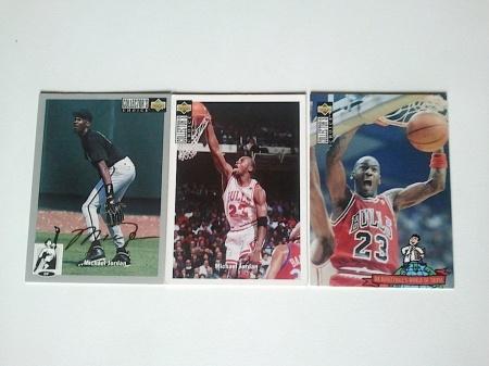 À epoca aposentado, Michael Jordan ainda estava presente na coleção.