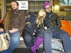 dentro metrô