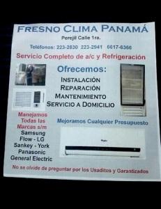 Fresno Clima Panama perfil