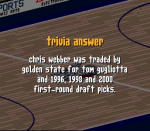 How was Chris Webber acquired by the Washington R