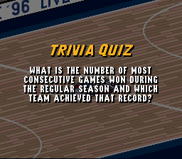 What is the number of most consecutive games won P