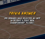 Which Dream Team II MVP 1989 Finals R