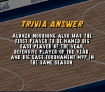 Which Dream Team II player was a three time Big East R