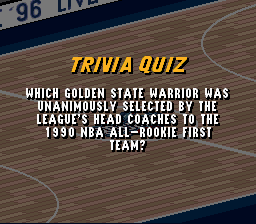 Which Golden State Warrior was unanimously 1990 P