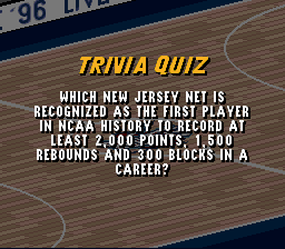 Which New Jersey Net is recognized P