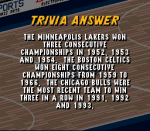 Which three NBA teams have won consecutive R