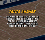 Which trade at the 1993 NBA Draft R