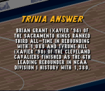 Which two NBA players led Xavier R