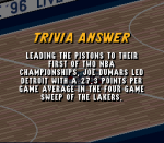 Who was named MVP in the 1989 NBA Finals R