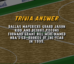 Who won the NBAs 1995 Rookie R